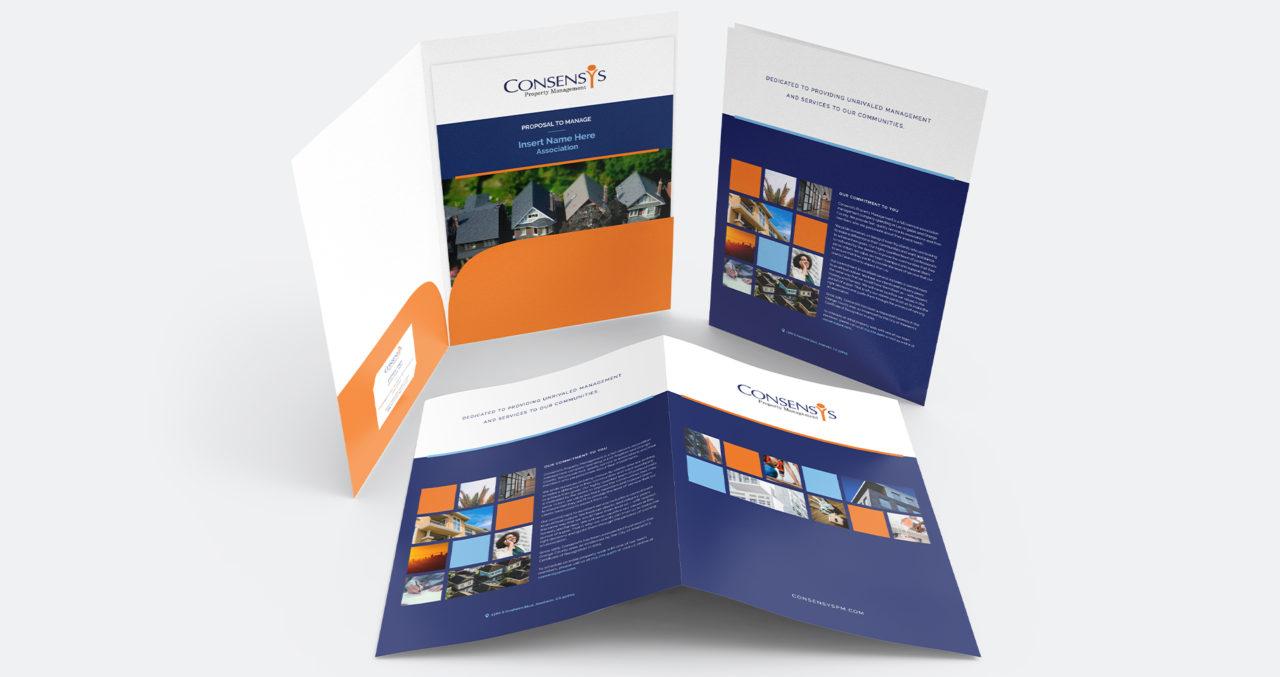 ConsensYs folder design