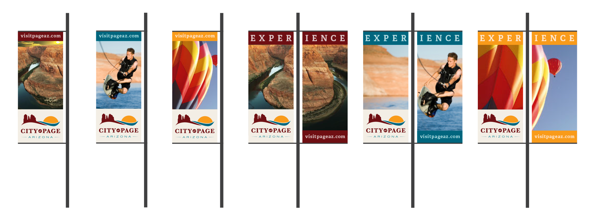 City of Page street sign concepts