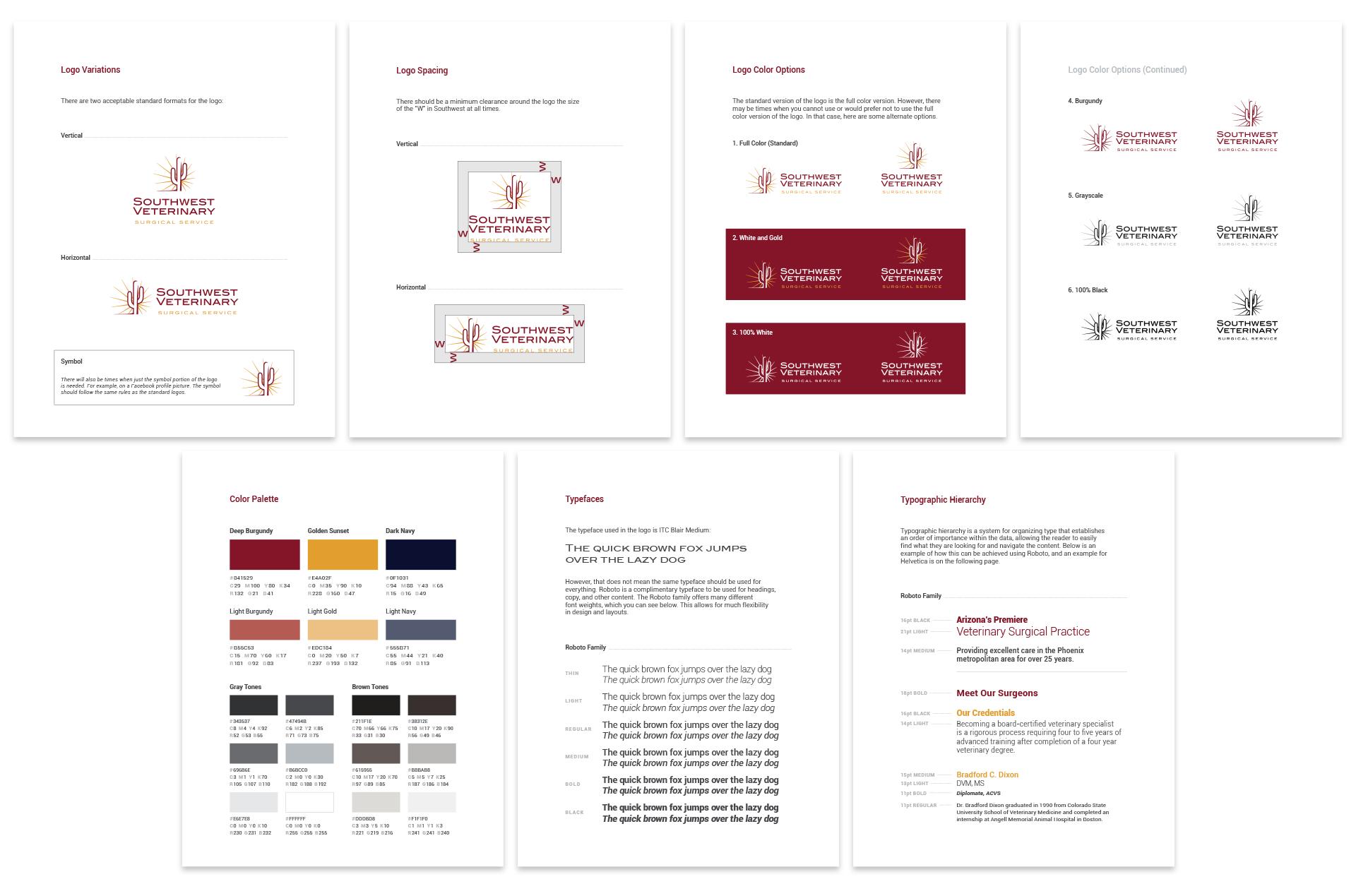 Brand Standards Guide Design
