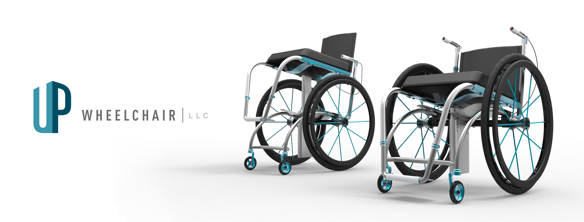 UP wheelchair product rendering
