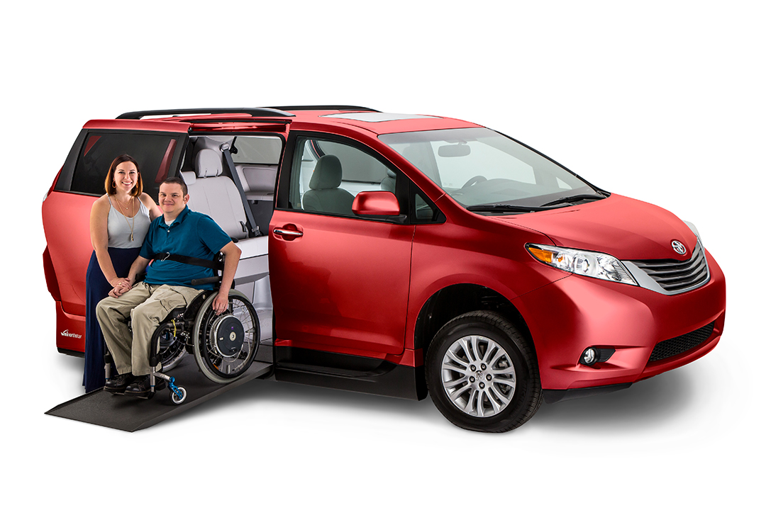 VMI Toyota Sienna vehicle image after editing